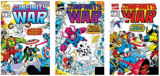 Comic Infinity War No 2-3-4