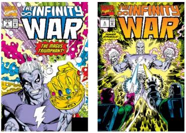 Comic Infinity War No 5-6